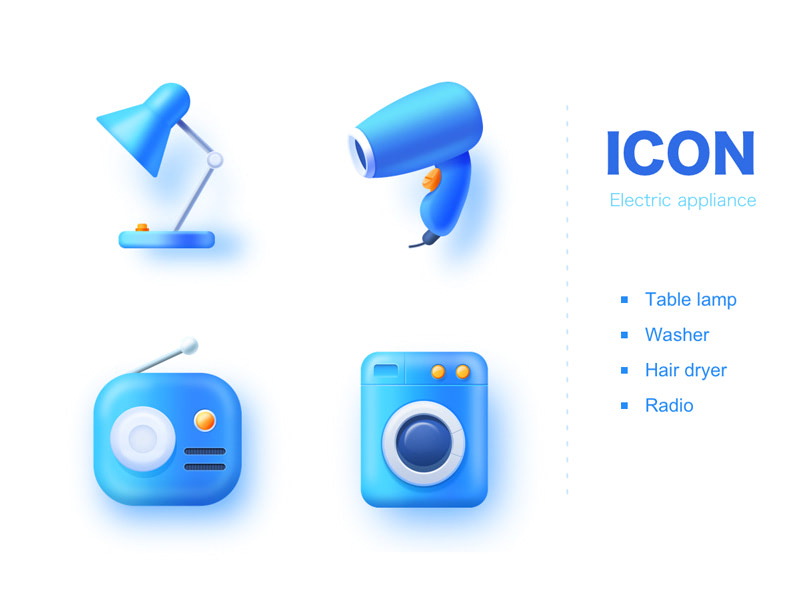 Icons_Electric appliance