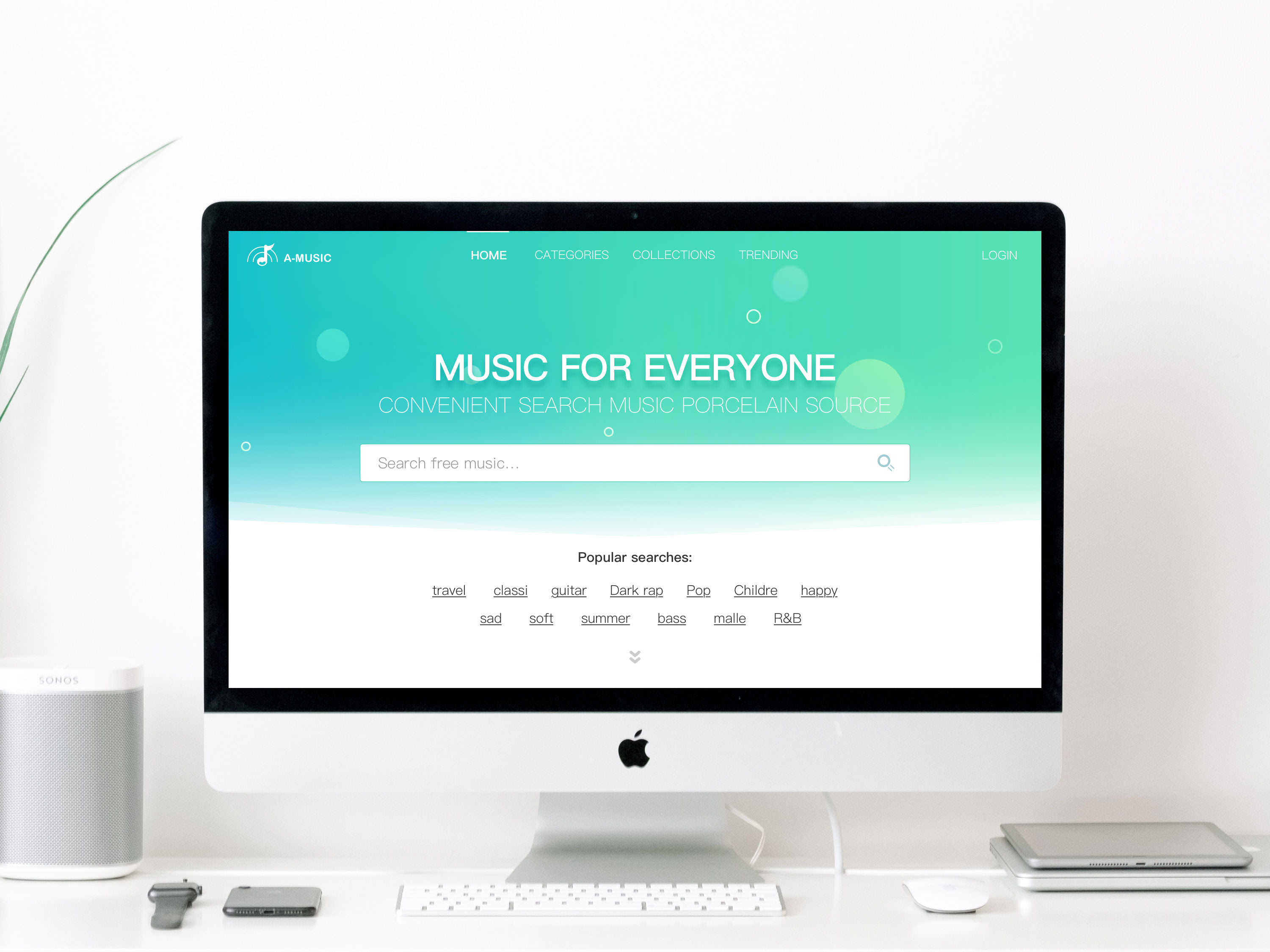 Music service product